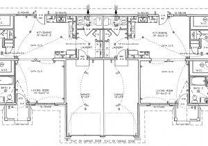 Large Duplex House Plans Duplex Floor Plans