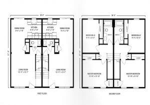 Large Duplex House Plans Modular Ranch Duplex with Garage Plan Modular Duplex Two