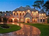 Large Estate Home Plans French Country House Plans Bringing European Accent Into