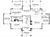 Large Family Home Floor Plans for the Large Family 44040td Architectural Designs