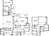 Large Family Home Plans Two Story Large Family Home Plans with Game Room