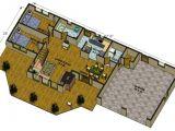 Large Log Home Floor Plans Big Delta Log Cabin Floorplans