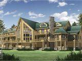 Large Log Home Plans Big Sky Log Home Plan Floor Plans Gallery Of Homes