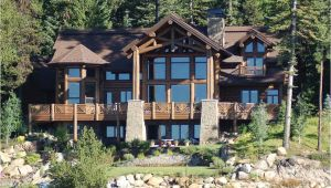 Large Log Home Plans Big Sky Log Home Plan Floor Plans Gallery Of Homes