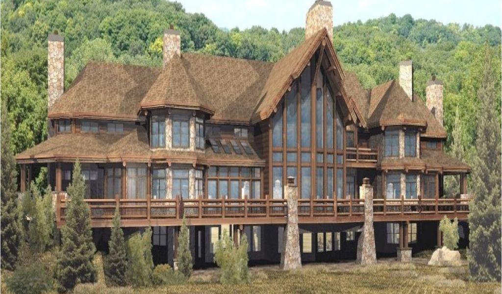 Admirable Large Log Home Plans Luxury Custom Log Homes Luxury Log Interior Design Ideas Skatsoteloinfo