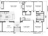 Large Modular Home Floor Plans Triple Wide Mobile Home Floor Plans Manufactured