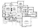 Large One Story Home Plan Exceptional Large One Story House Plans 6 Large One Story