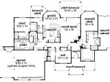 Large One Story Home Plan Large 1 Story House Plans Large One Story House