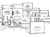 Large One Story Home Plan Large One Story House Plans One Story Luxury House Plans