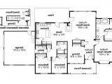 Large One Story Ranch House Plans House Plans with Large Kitchens thenhhouse Com