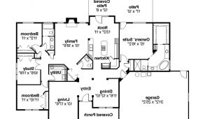 Large One Story Ranch House Plans Large One Story Ranch House Plans 2018 House Plans and