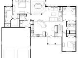 Large Open Floor Plan Homes Best Open Floor House Plans Cottage House Plans
