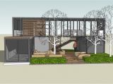 Large Shipping Container Home Plans Sketchup Shipping Container In Shipping Container Home