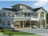 Latest Home Plans In Kerala 2960 Sq Feet 4 Bedroom Villa Design Villas Pinterest