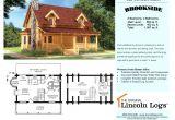 Lincoln Log Homes Floor Plans Log Home Floorplan Brookside I the original Lincoln Logs