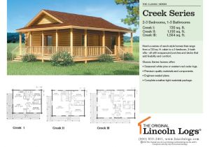 Lincoln Log Homes Floor Plans Log Home Floorplan Creek Series the original Lincoln Logs