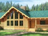 Lincoln Log Homes Plans Fall River Log Home Plan by the original Lincoln Logs