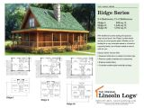 Lincoln Log Homes Plans Log Home Floorplan Ridge Series the original Lincoln Logs