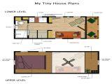 Little Homes Plans Tiny House Plans with Loft Tiny Loft House Floor Plans