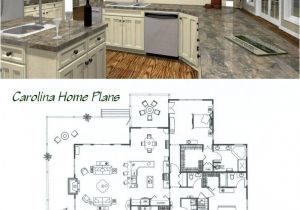 Living Concepts Home Plans Midsize Country Cottage House Plan with Open Floor Plan