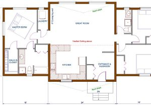 Living Concepts Home Plans Open Concept Kitchen Living Room Floor Plan and Design