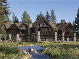 Lodge Homes Plans Buffalo Creek Lodge House Plan by Precision Craft