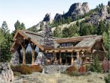 Log and Stone Home Plans Caribou Log Home Floor Plan by Precision Craft