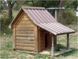 Log Cabin Dog House Plans A 5ft by 5ft Log Cabin Dog House with A 3ft Leant to
