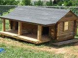 Log Cabin Dog House Plans Landscape Timber Log Cabin Dog House Portable Landscape