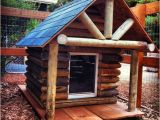 Log Cabin Dog House Plans Log Cabin Rustic Just Take A Few Logs Off to Be