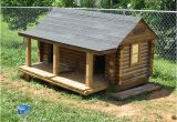 Log Cabin Dog House Plans Next Diy Log Dog House Summer