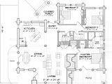Log Home Floor Plans Caribou Log Home Floor Plan by Precision Craft