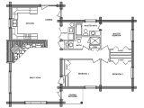 Log Home Floor Plans Pioneer Log Home Floor Plan Bestofhouse Net 13434