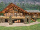 Log Home Floor Plans with Basement Log Cabin Home Plans with Basement Log Cabin Style House