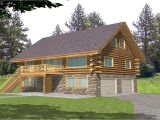 Log Home Floor Plans with Garage and Basement Log Cabin Home Floor Plans with Garage Log Cabin Floor