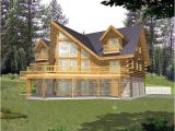 Log Home Floor Plans with Garage and Basement Log Cabin House Plan Alp 04z7 Chatham Design Group
