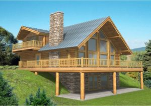 Log Home Floor Plans with Garage Log Home Plans with Basement Log Home Plans with Garages