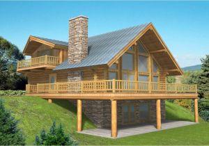 Log Home Floor Plans with Garage Log Home Plans with Basement Log Home Plans with Garages