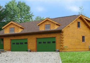 Log Home Floor Plans with Garage Log Home Plans with Garages Log Cabin Garage with