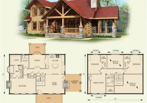 Log Home Floor Plans with Garage Stoneridge Log Home and Log Cabin Floor Plan Log Home