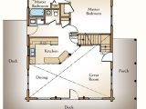 Log Home Floor Plans with Loft and Basement A Small Log Home Floor Plan the Augusta Real Log Style