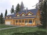 Log Home Floor Plans with Loft and Garage Small Log Cabin House Plans Log Cabin Home Plans with Loft