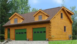 Log Home Garage Apartment Plan Log Home Plans with Garages Log Cabin Garage with