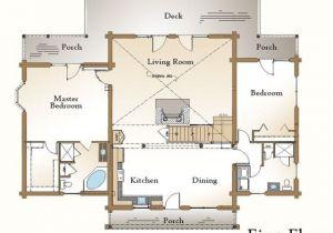 Log Home Living Floor Plans 22 Best Open Living Kitchen Dining Images On Pinterest
