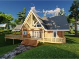 Log Home Plans Alberta the Kinuso Acadian Log Homes
