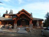 Log Home Plans Alberta Wood River Log Home Plan Comes to Life In Alberta Canada