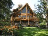Log Home Plans and Prices Fairmont Log Home Design by the Log Connection