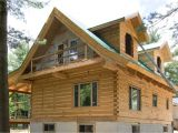 Log Home Plans Ontario Cabin with Loft Plans Joy Studio Design Gallery Best