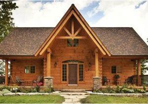 Log Home Plans Ontario Confederation Log and Timber Frame