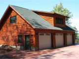 Log Home Plans with Garage Log Garage with Apartment Plans Log Cabin Garage with